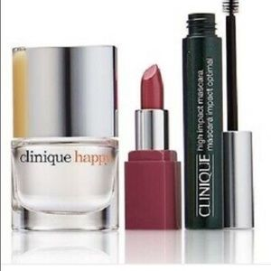New in box-Clinique 8pc gift set w/bag